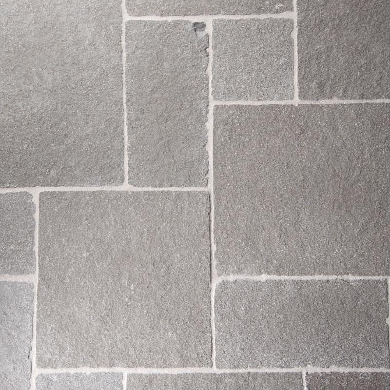 pierre gris pavés