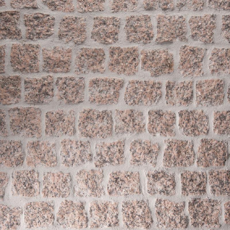 pavés granit rose pierre naturelle