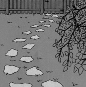 aménagement allée pas japonais