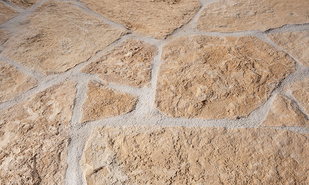pavés calcaire pierre