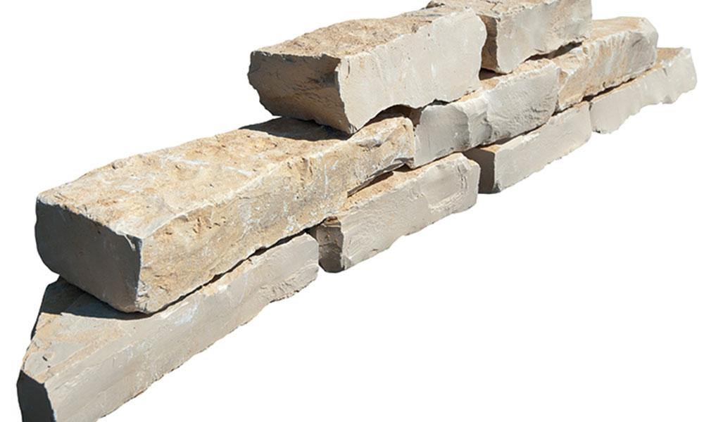 muret jardin calcaire naturel