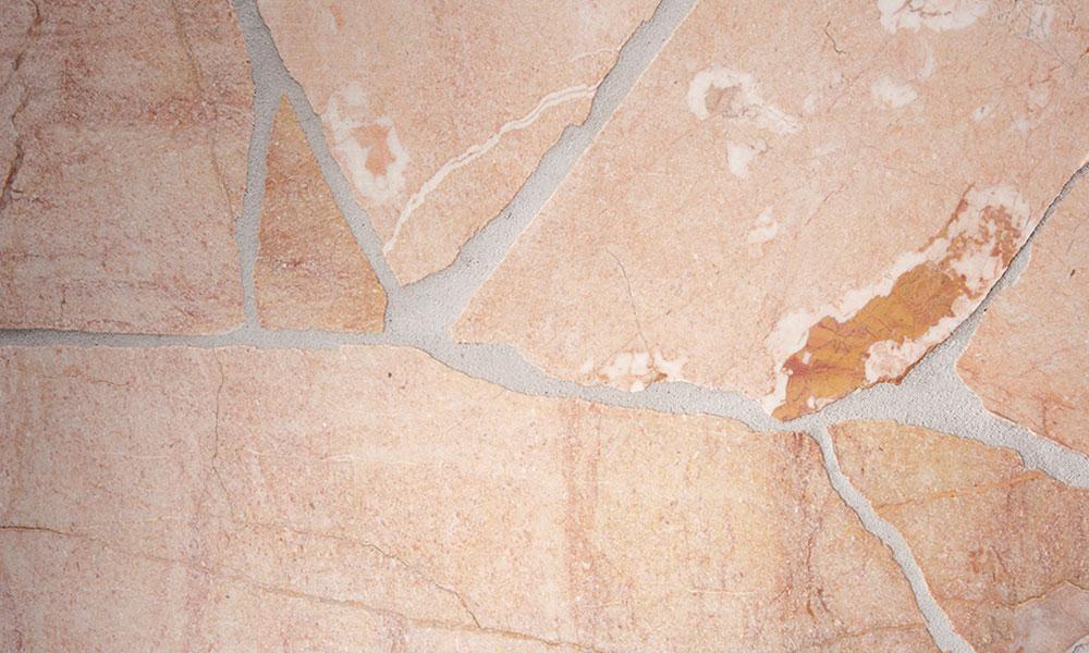 marbres granits rose terrasse allées