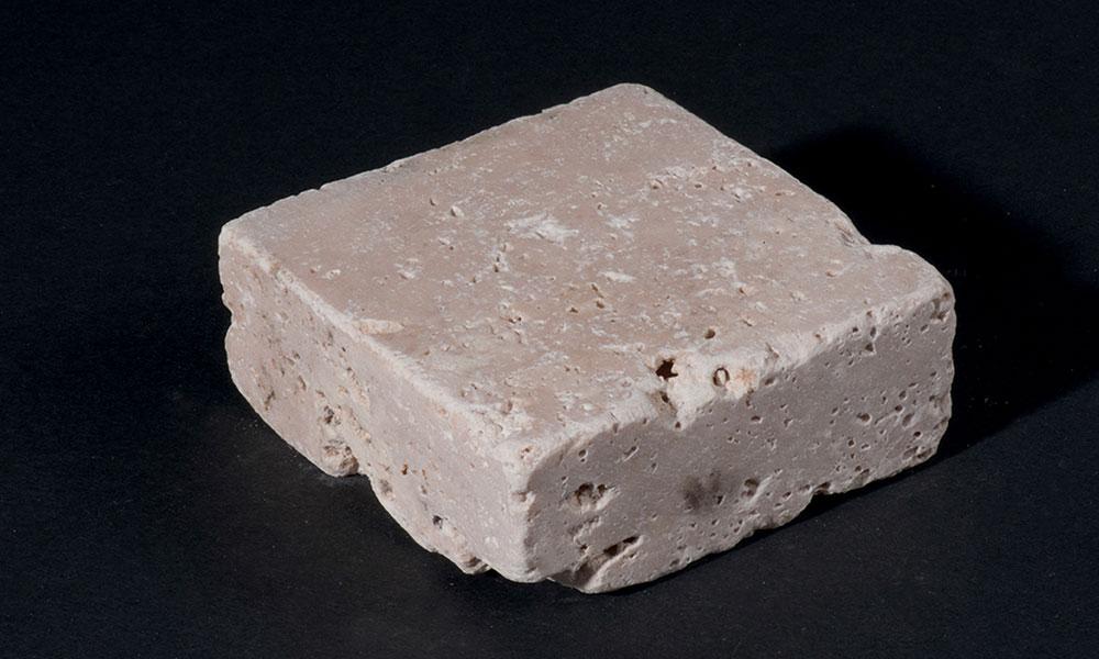 pave travertin pierre